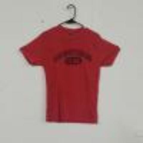 Red seeking sitters tee shirt