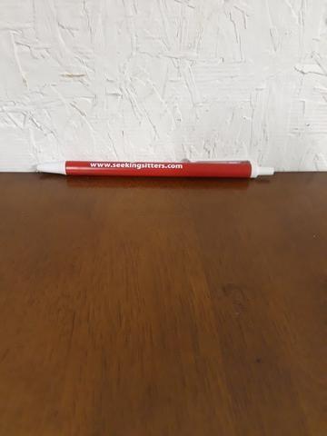 seeking sitters red pen